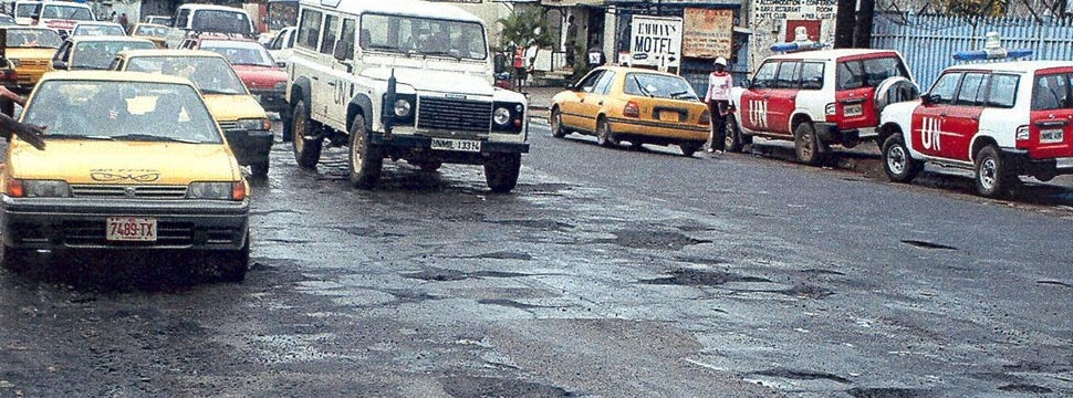 Image result for liberia roads