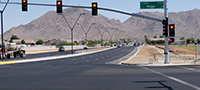 Ellsworth Road Widening Project in Queen Creek, AZ